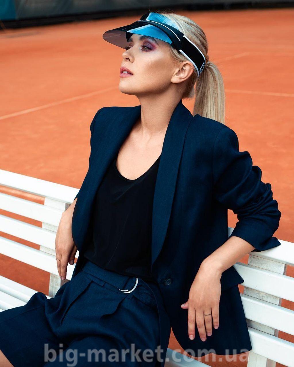 Козирок від сонця Dior Club 1 Visor (дзеркально-синій) купити в Україні 7ba20cd53f6f9