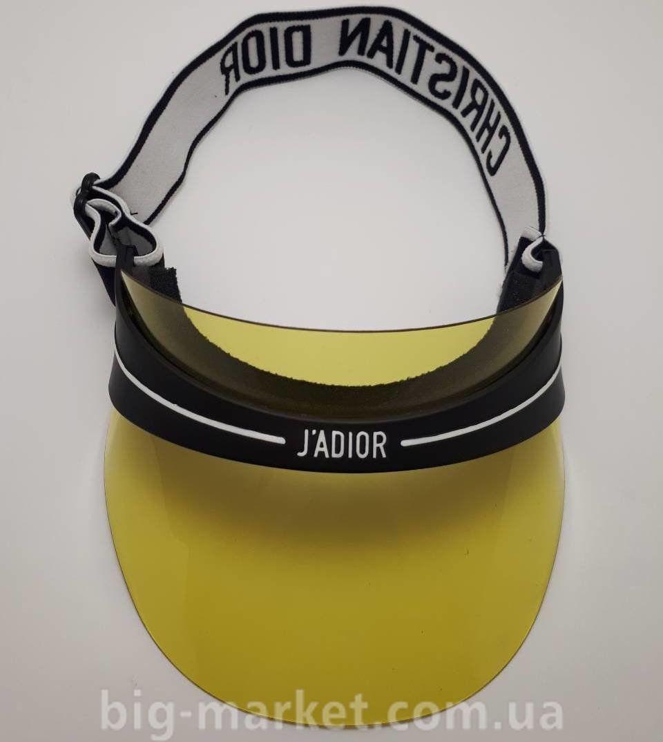 Козирок від сонця Dior Club 1 J adior Visor (жовтий) купити в Україні 02c68a15b330e