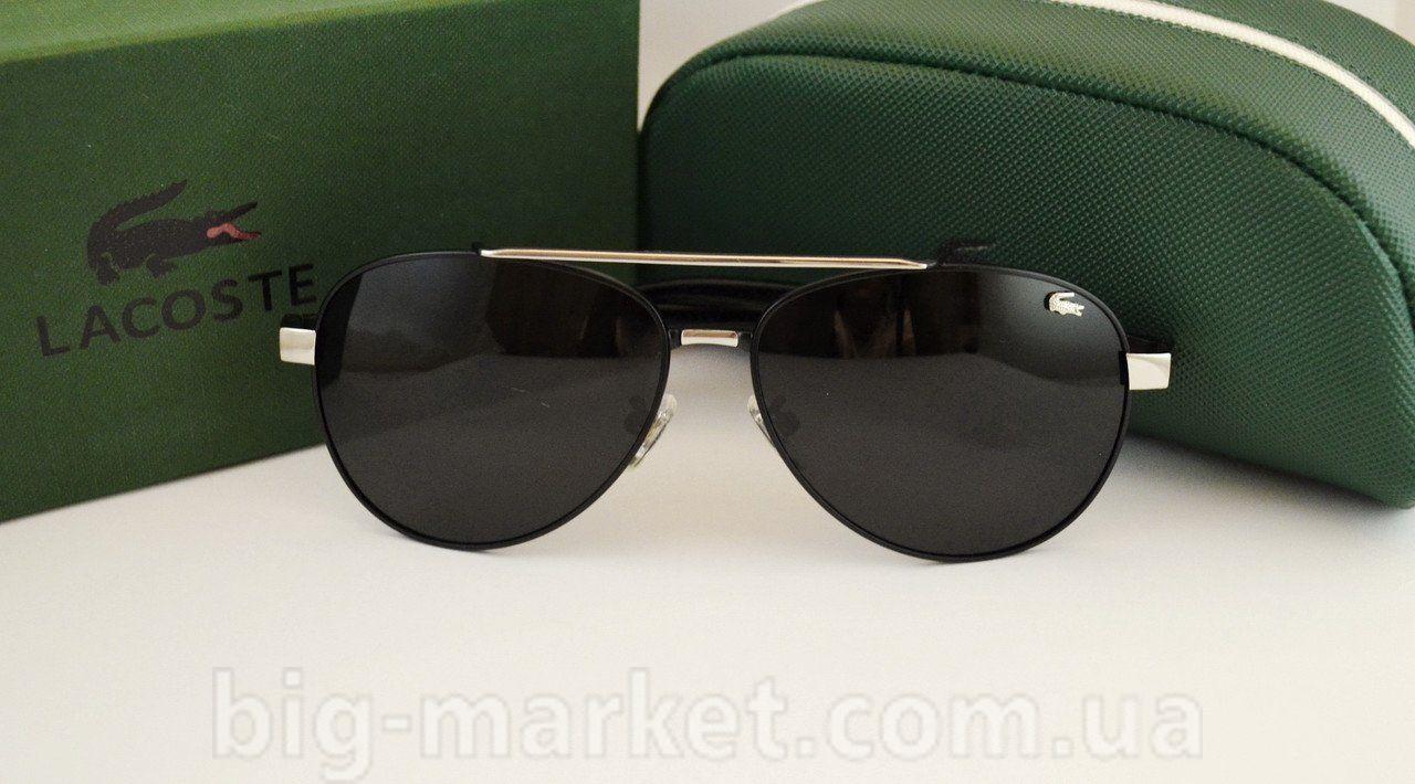 6ef3bf6f3e73 Очки Lacoste 8023 Black-Silver купить в Украине