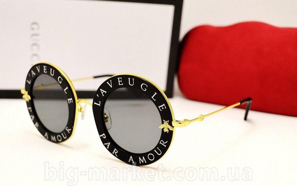 7dc23ae747e8b Очки Gucci GG 0113S L'Aveugle Par Amour Black купить в Украине СНГ ...