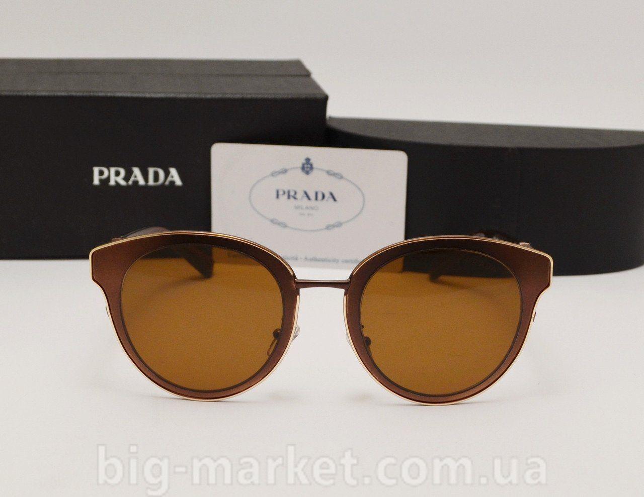 Окуляри Prada SPR 11 Brown купити в Україні cf747cd3c4f16
