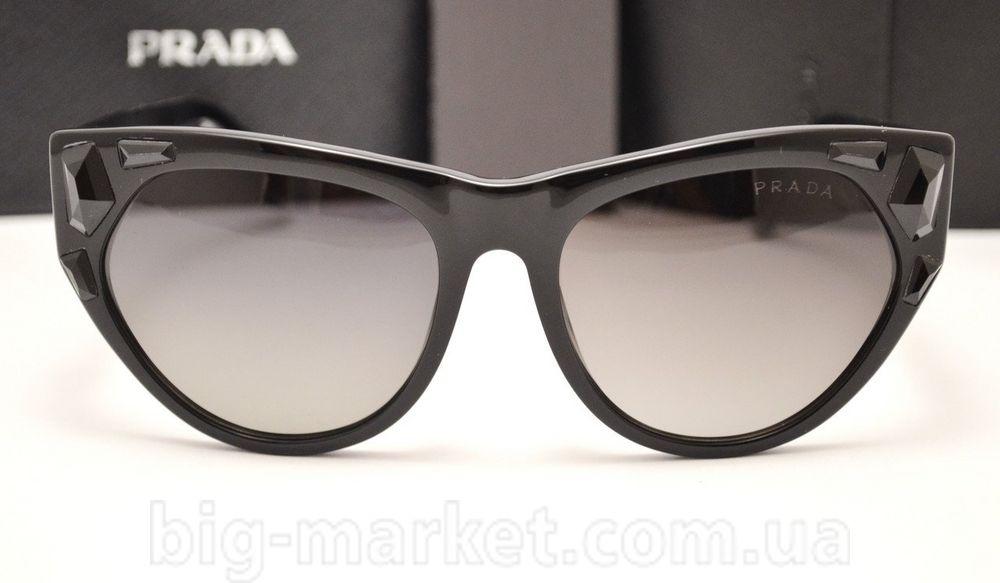 a115faaf0a3d7 Очки Prada SPR 21 QS Black купить в Украине СНГ Европа