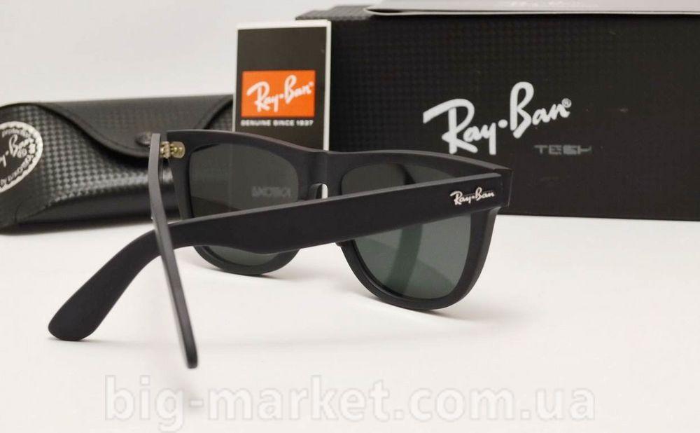 Очки Ray-Ban Original Wayfarer RB 2140/54 Black Matt