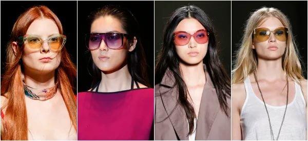 Минуя недовольный ропот офтальмологов относительно линз разных цветов,  дизайнеры не отказались от эксперимента с ними. Новые коллекции в 2017 году  изобилуют ... fe00750eb9f