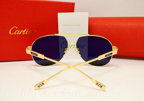 Окуляри Cartier 0725 Gold купити в Україні cf72c9d22c449