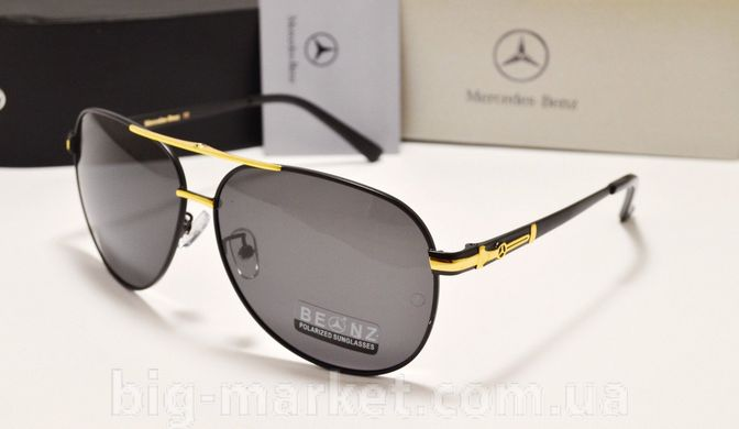 5a8b523793e7 Очки Mercedes-Benz 745 Black-gold купить, цена 840 грн, Фото 16 ...