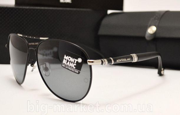 Окуляри Montblanc 374 Black-Silver купити в Україні 1fa66db93eb95
