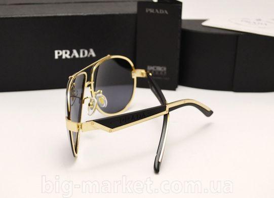 Окуляри Prada SPR 29 N Black-Gold купити в Україні c28b423df796d