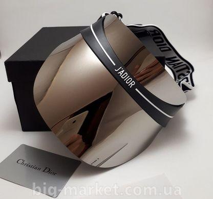 Козирок від сонця Dior Club 1 Visor (дзеркально-сірий) купити в Україні 86bfdf595311d