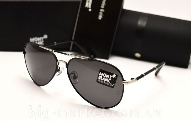 Окуляри Montblanc 375 Black silver купити в Україні 666fb33dacd9e