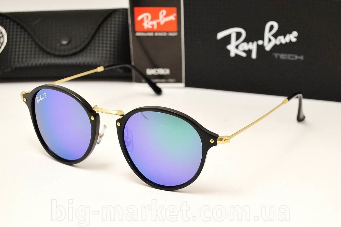 Очки Ray-Ban Round Fleck RB 2448 Green