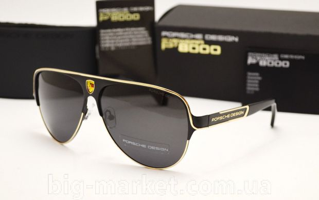 Окуляри Porsche Design P 8580 Black-gold купити в Україні 027cadbc8fc02