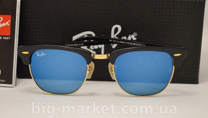 Очки Ray-Ban Clubmaster RB 3016 Blue купить в Украине be913d83f7497